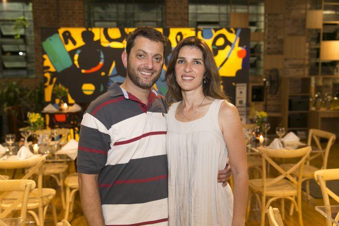 Luciano Mello e Adriana Mello da Andritz. Foto: Fabiane Sznicer/Divulgação