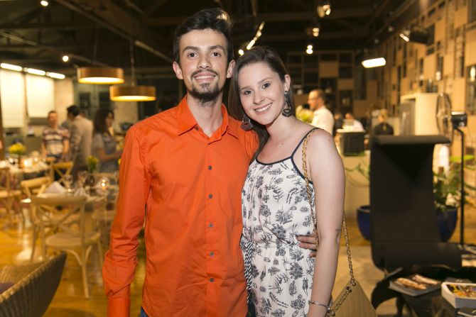 Leandro Pinheiro e Mariana Notto Santana da Marili Taborda. Foto: Fabiane Sznicer/Divulgação
