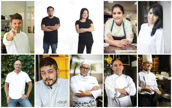 Guga Rocha, Pablo Pavón, Bárbara Verzola, Manu Buffara, Lia Quinderé, Celso Freire, Lênin Palhano, Eva dos Santos, Ivan Lopes e Joy Perine.