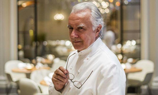"""Alain Ducasse pratica a """"cozinha natural"""". Foto: Divulgação"""