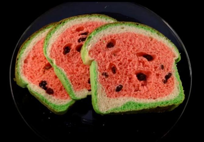 Pão melancia