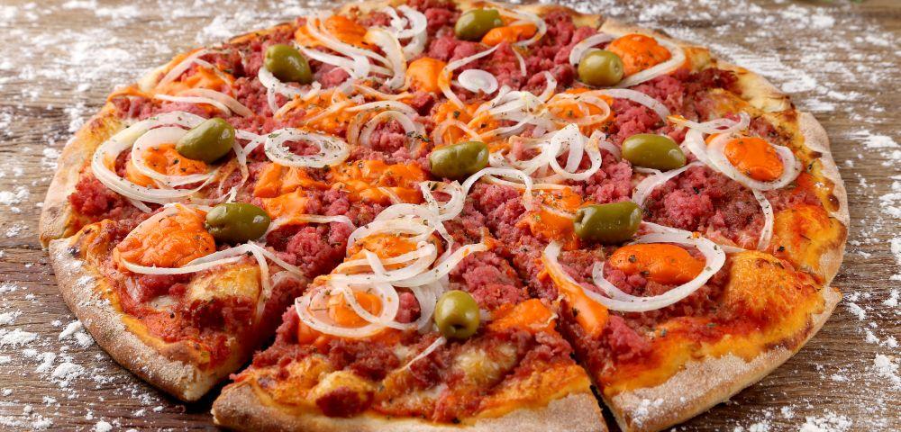 São 35 pizzarias participantes. Foto: Guilherme Alves / Gazeta do Povo.