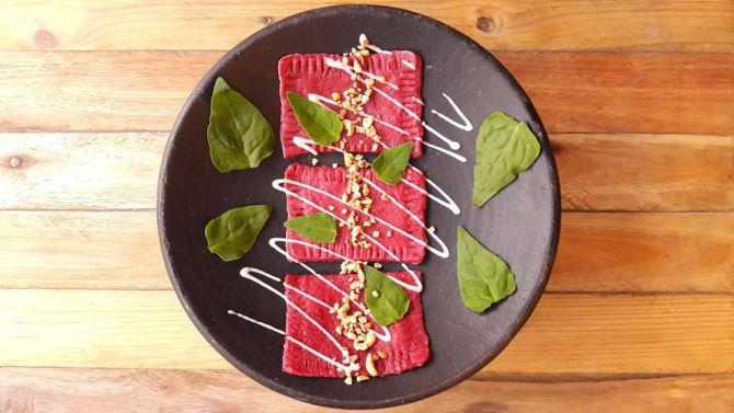 Um dos pratos principais do jantar. Foto: Divulgação
