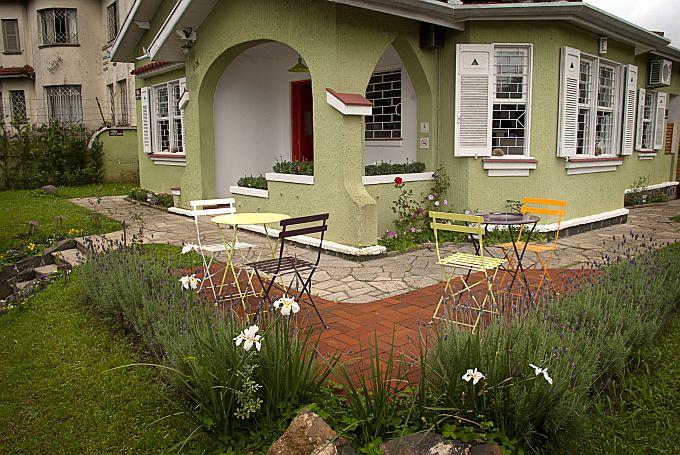 A casa de chá Caminho do Chá, uma das facetas da marca. Foto: Divulgação