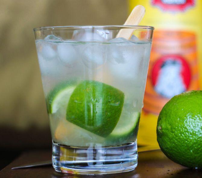 Caipirinha de limão do Zapata. Foto: Divulgação