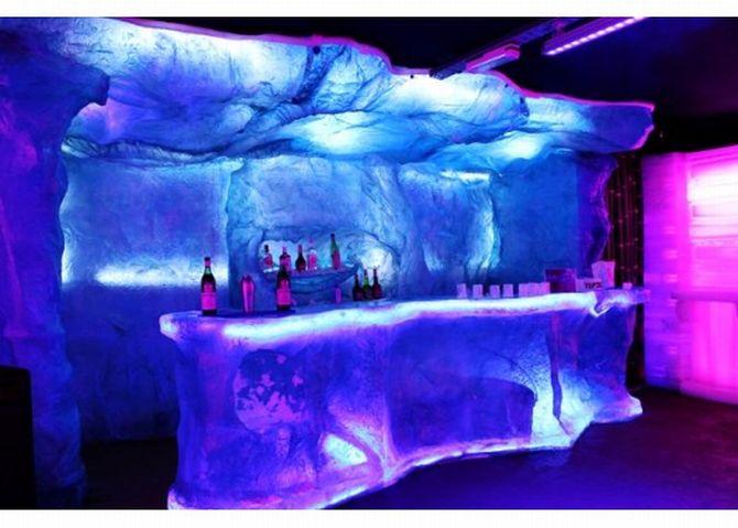 O bar de gelo em Puerto Iguazú. Foto: Divulgação