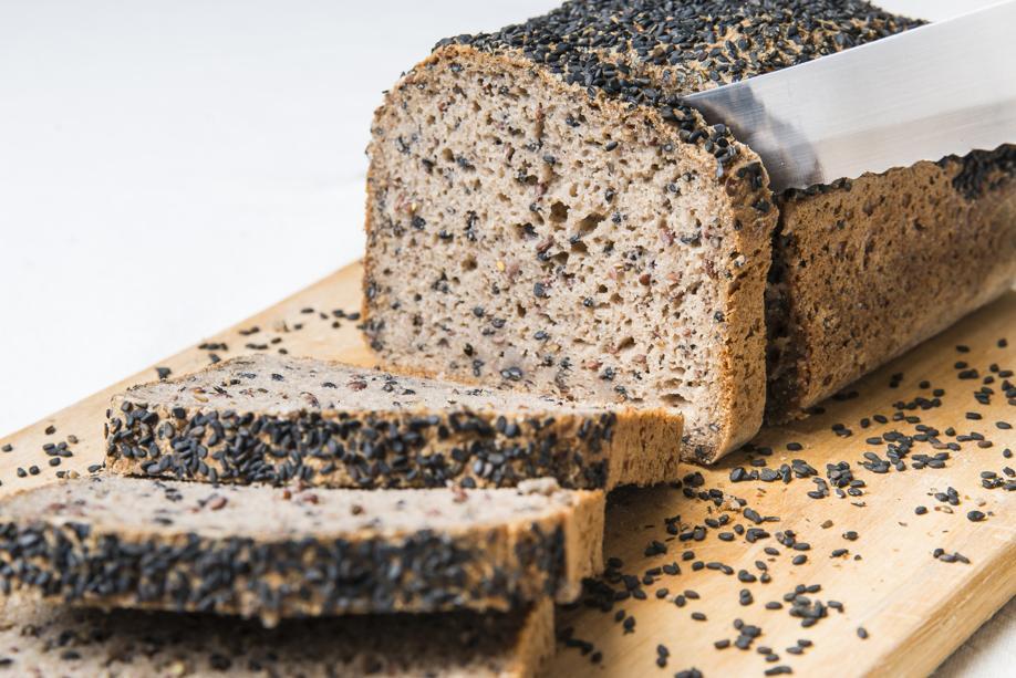 Pão Integral (sem glúten e sem ovos)