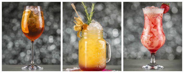 Fotos de drinks do Drink Festival Bom Gourmet. Foto: Fernando Zequinão / Gazeta do Povo.