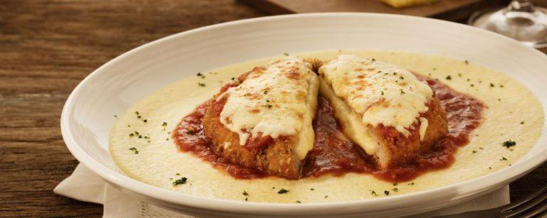 Polpettone com polenta é um dos pratos do Abbraccio. Foto: divulgação