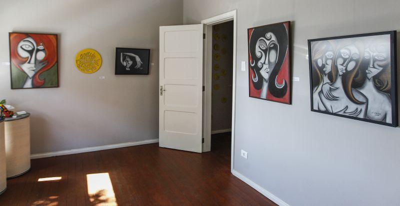 Gelarteria Gelato e Arte com uma proposta diferente: vender o produto em um ambiente repleto de design e arte