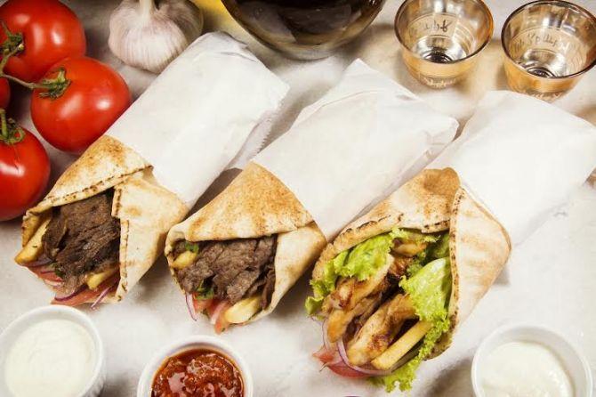 Don Kebab tem as opções Kebab de carneiro (R$ 20) e Kebab de carne bovina ou frango (R$ 15). Foto: Divulgação.