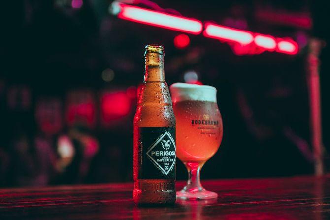 A premiada cerveja Perigosa da Boderbrown estará presente no evento. Foto: divulgação