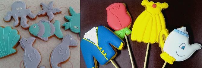 Biscoitos decorados da Vovó Elza. Foto: Reprodução/Facbook