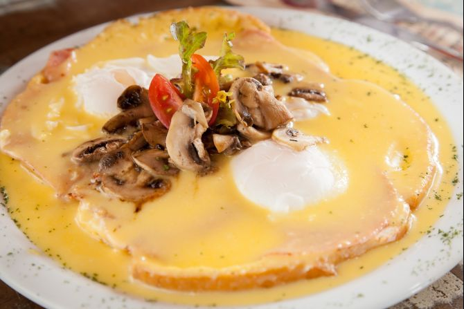 Eggs Benedict do Brooklyn. Foto: Fernando Zequinão/Gazeta do Povo