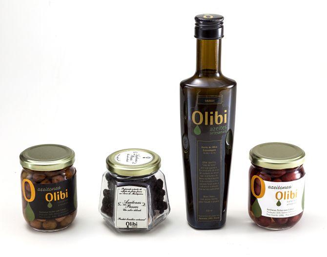A Olibi, lançada em 2017, produz azeite de oliva, azeitona em conserva e azeitona desidratada. Foto: Divulgação