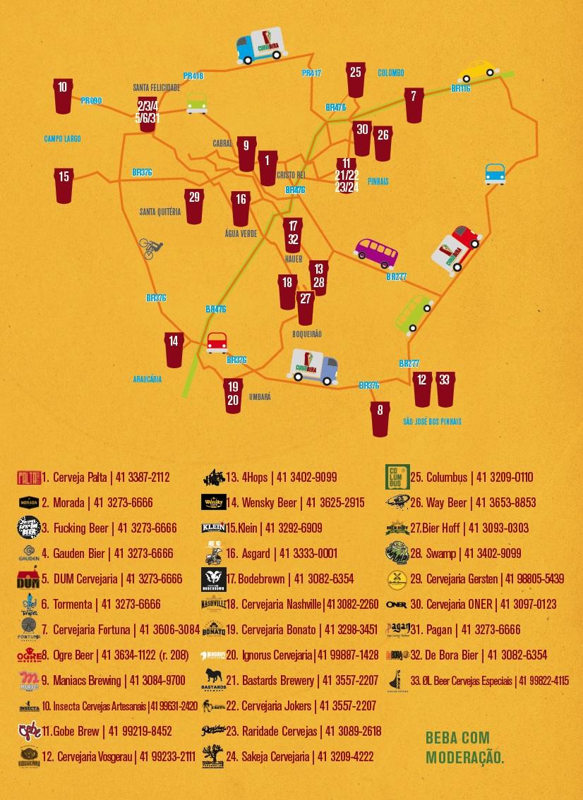 Agora é oficial! Curitiba é a capital da cerveja artesanal no Brasil