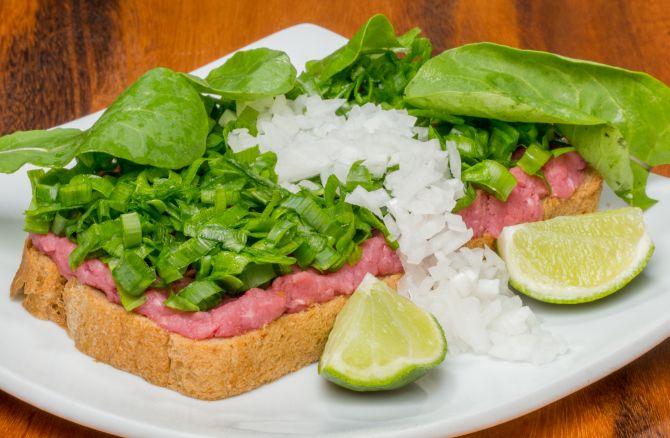 Carne de onça do Kanavial. Foto: Divulgação.
