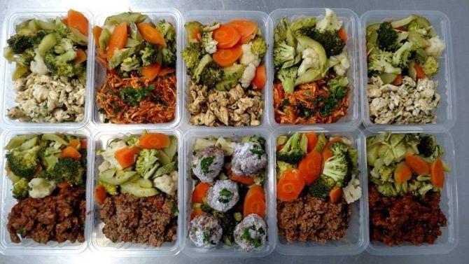O Mr. Green Healthy Food também faz dietas personalizadas. Foto: Divulgação/Facebook.