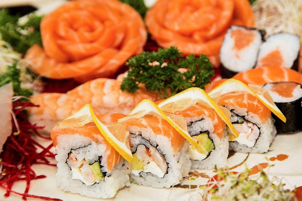 Combinado de salmão com 22 peças do Yokohama (R$ 54,90). (Foto: Divulgação)