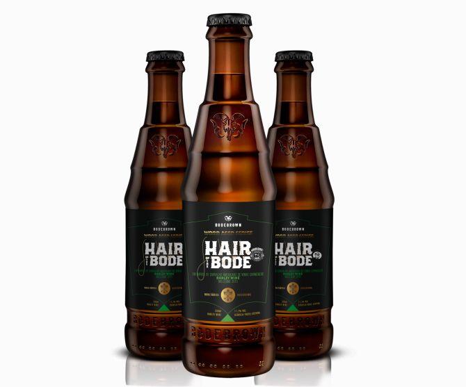 Cerveja Hair of the Bode, produzida pela Bodebrown em parceria com a cervejaria dos EUA, Hair of the Dog. Foto: Divulgação.