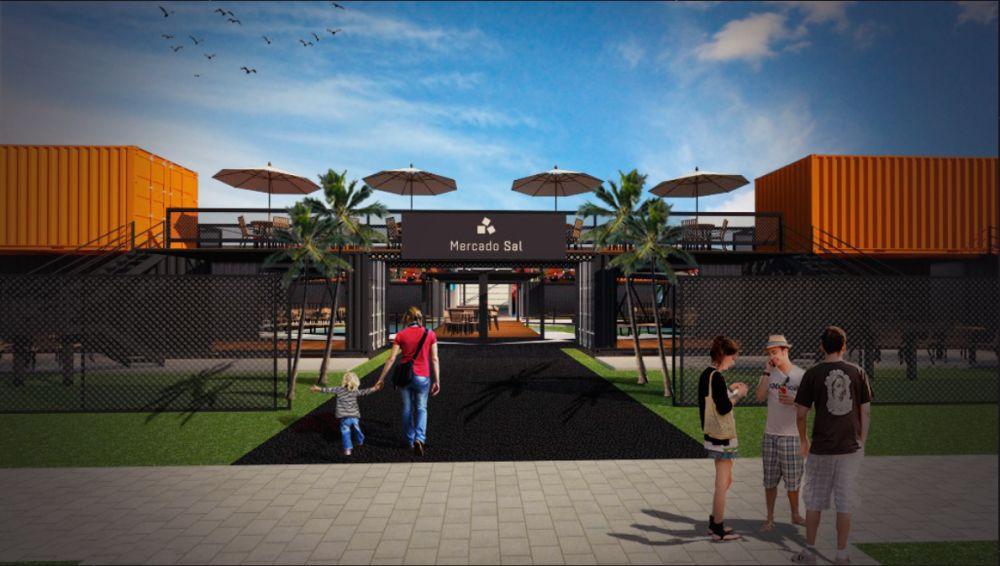 Novo polo gastronômico no Portão terá 40 contêineres e restaurantes badalados