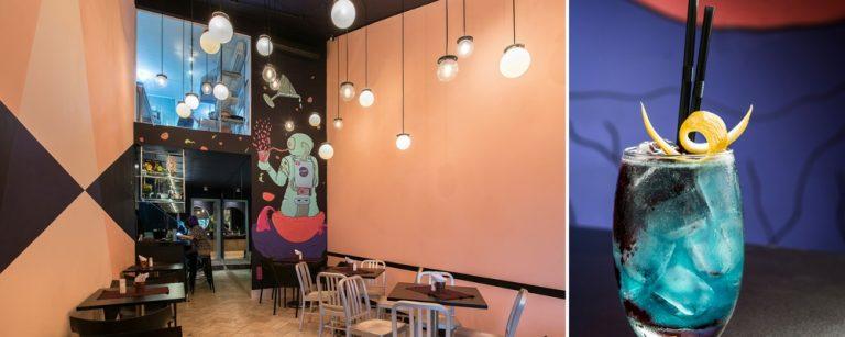 Inspirado no universo, novo bar aposta em drinks e entradas para compartilhar
