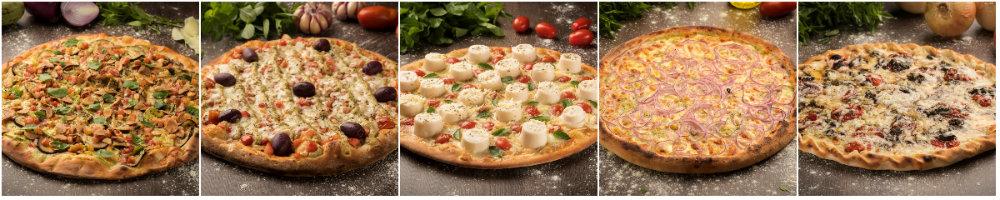 16 sabores imperdíveis de pizzas vegetarianas em Curitiba