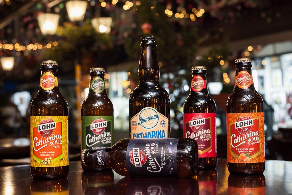 Cervejas Catharina Sour em garrafa. Foto: Karina Kuromiya