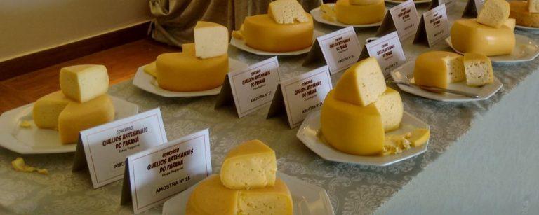 Concurso promovido pela Emater quer mapear a produção artesanal de queijos no Paraná. Foto: Emater