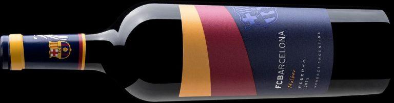 Loja online traz vinho do time do Barcelona para o Brasil
