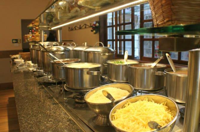 Buffet livre de sopas e massas por R$ 29. Foto: Divulgação