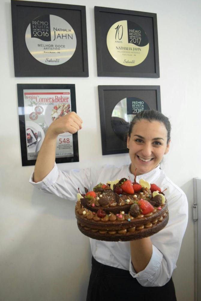 Chef Nathalia Jahn largou o sonho de seguir carreira médica e foi estudar gastronomia na França. Foto: Divulgação