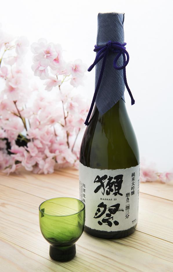 Bassai 23, um dos rótulos mais raros da Adega de Sake (R$ 799). Foto: Leticia Akemi/ Gazeta do Povo
