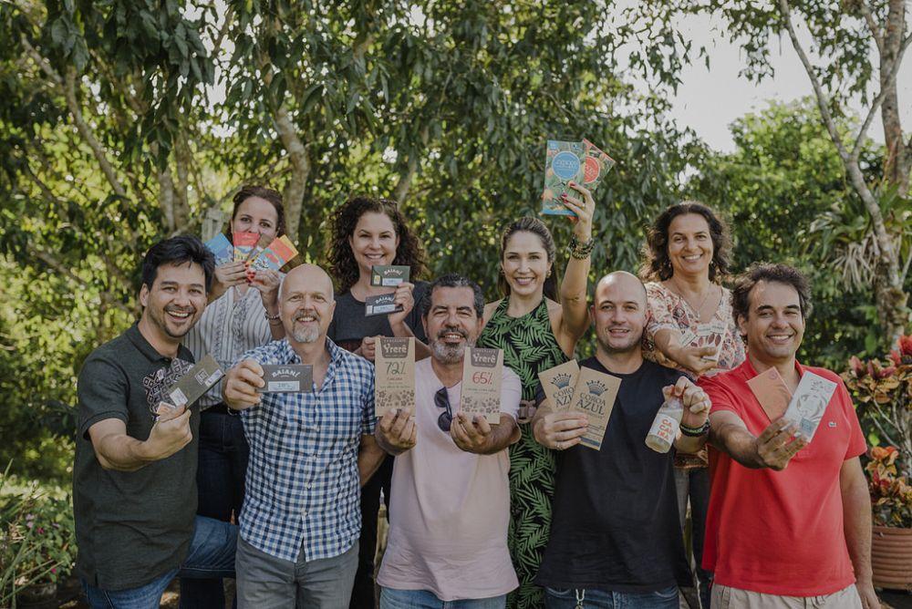Praga da vassoura-de-bruxa obrigou os produtores a se reinventarem apostando no chocolate fino. Foto: Ana Lee/Divulgação.