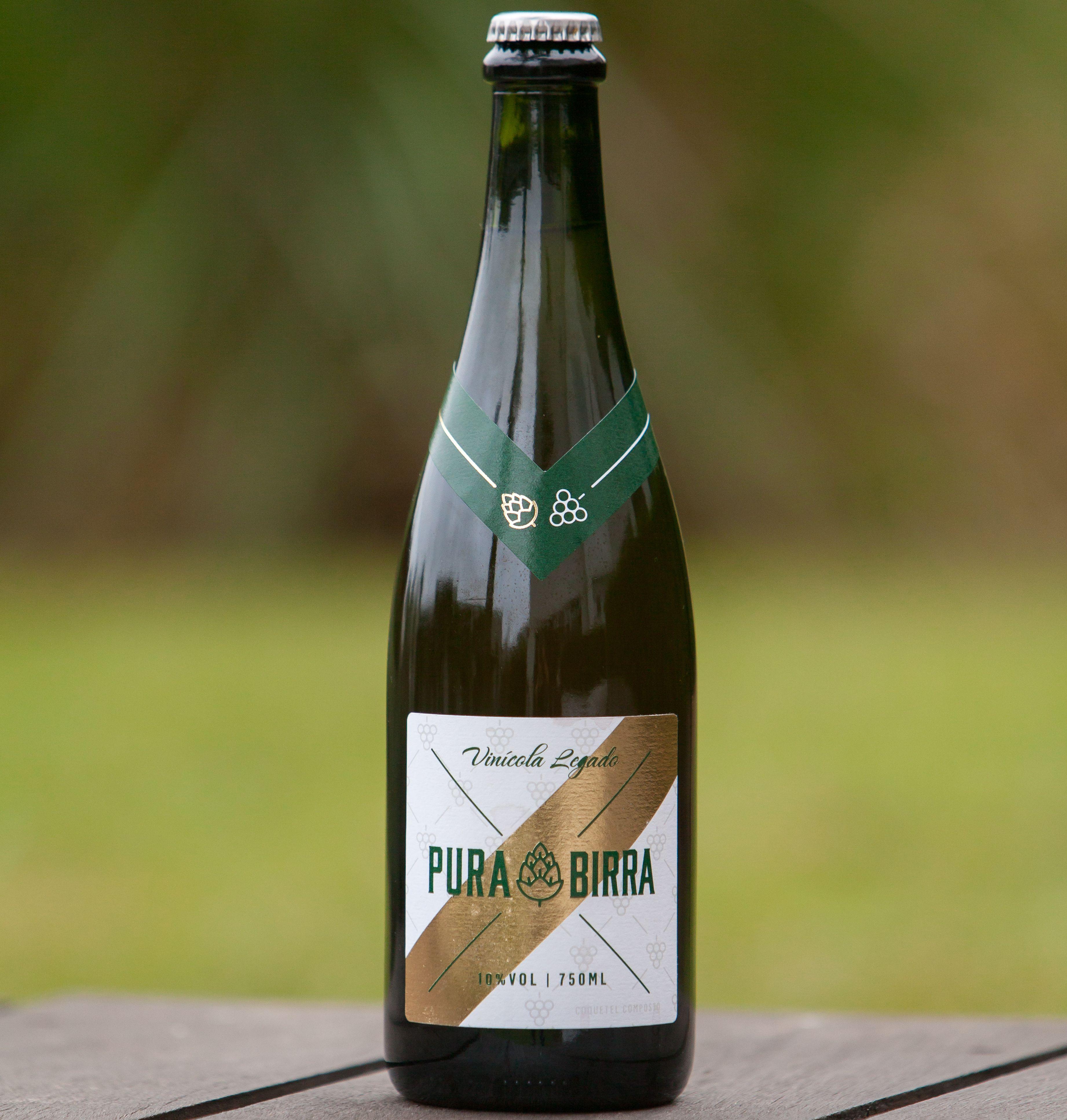 Pura Birra, vinho com cerveja, da Vinícola Legado.
