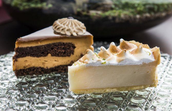 Diversos sabores de tortas são vendidos a R$ 10. Foto: Letícia Akemi/ Gazeta do Povo