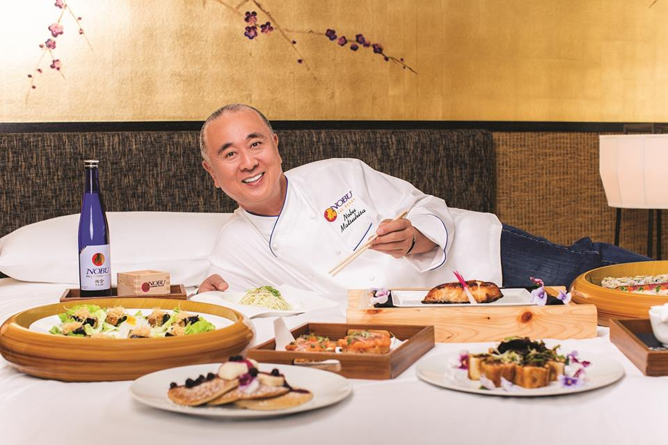 Chef Nobu Matsuhisa. Foto: Divulgação / Facebook.