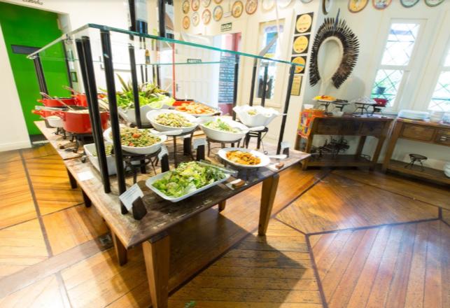 Melhor buffet de Curitiba é referência em comida sustentável