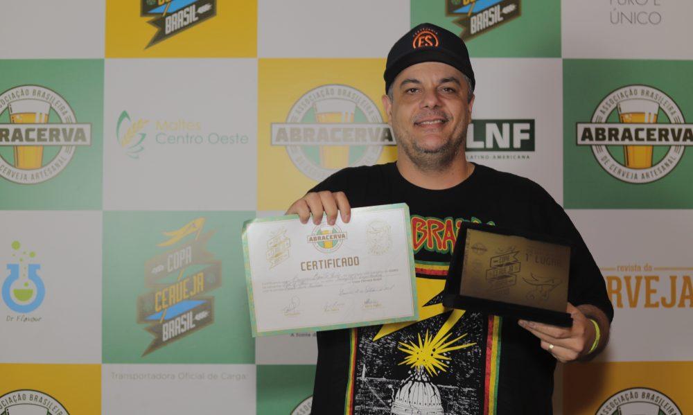 Cervejaria Espírito Santo ganhou na categoria Rauchbier. Foto: Bruno Dupon/Copa Brasil Cerveja.