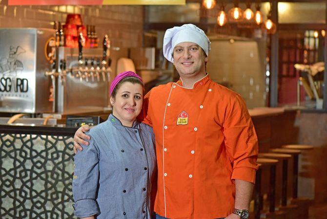 Geber Hajar e Adriana Silveira, sócios-proprietários da marca. foto: Divulgação