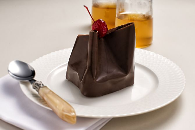 Brownie da Grué Chocolateria. Foto: Alexandre Mazzo/Gazeta do Povo