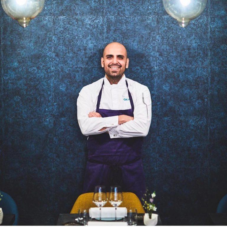 Chef Raphael Rego, do Oka, em Paris. Foto: Divulgação.