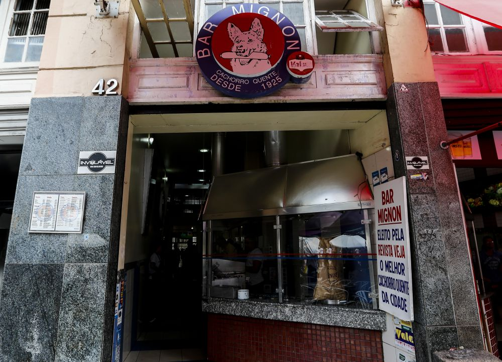 Bar Mignon. Foto André Rodrigues / Gazeta do Povo.