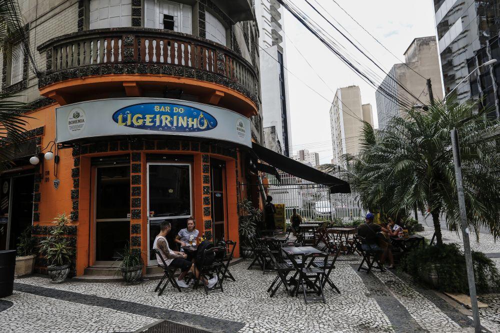 Bar do Ligeirinho. Foto André Rodrigues / Gazeta do Povo.