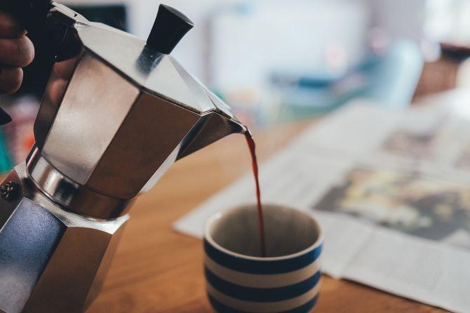 A Bialetti é responsável por popularizar a Moka, conhecida também como cafeteira italiana. Foto: Pixabay