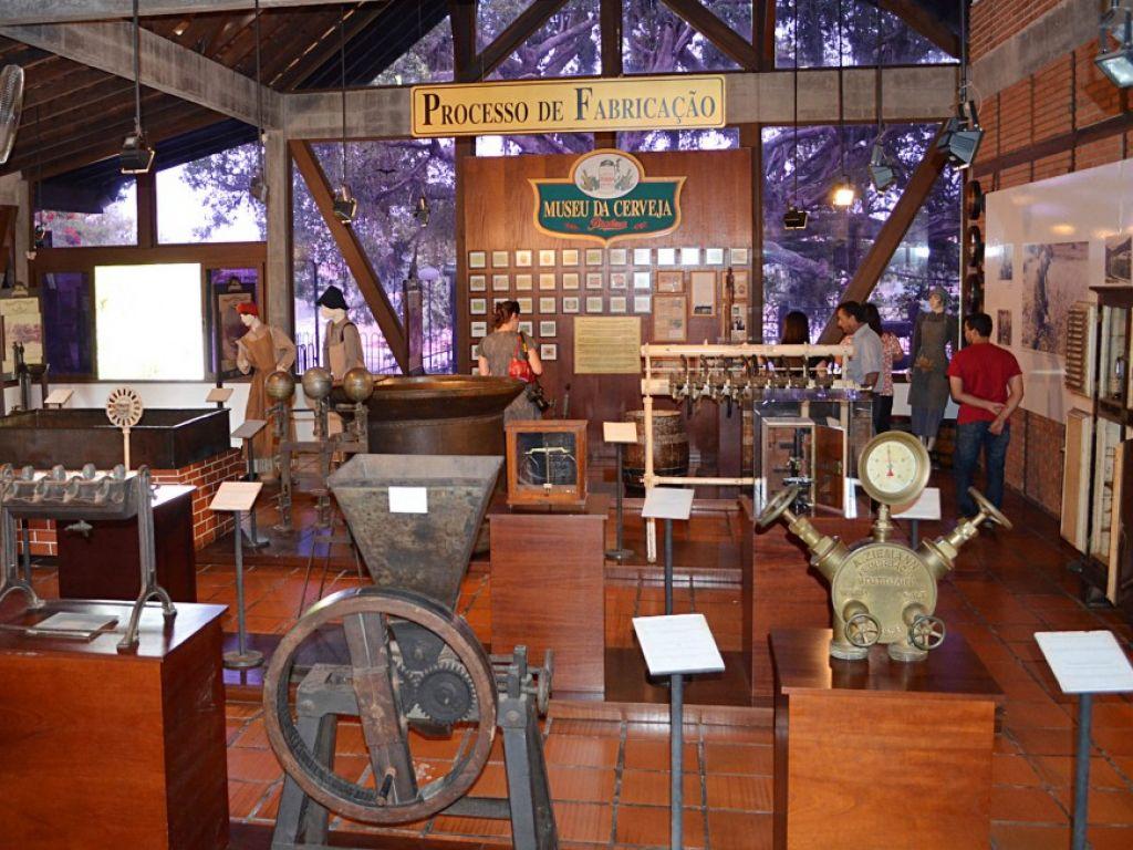 O museu retrata uma das primeiras indústrias de cerveja do país. Foto: Prefeitura de Blumenau/reprodução site.