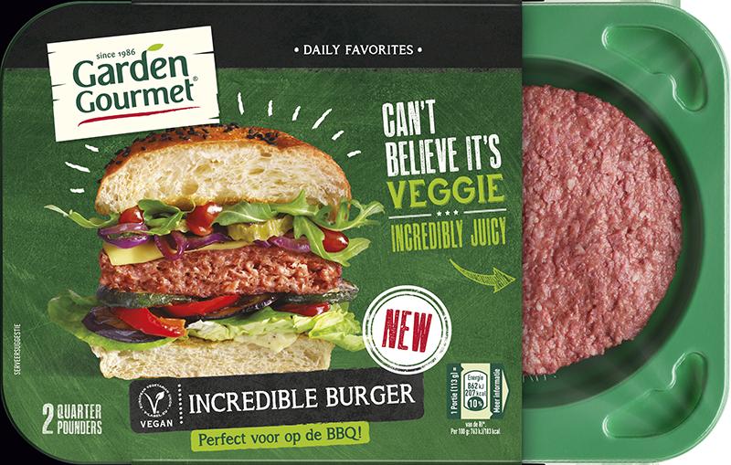 A Nestlé também afirma que o hambúrguer é semelhante ao preparado com proteína animal. Foto: Garden Gourmet/divulgação.