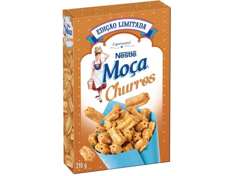 Cereal promete ter sabor e formato de churros, e ser usado no café da manhã ou como sobremesa. Foto: divulgação.