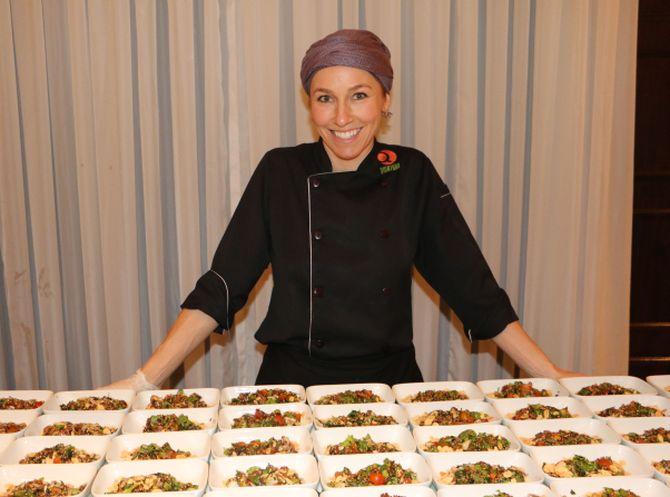 A chef Gabriela Carvalho  vai preparar um pernil de cordeiro. Foto: Divulgação