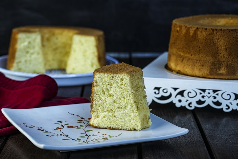 Bolo Chiffon de laranja da Hummai Cake. Fotos: André Rodrigues / Gazeta do Povo.